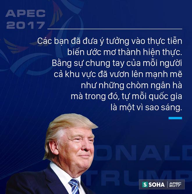 Toàn văn phát biểu của Tổng thống Mỹ Donald Trump tại APEC CEO Summit Việt Nam 2017 - Ảnh 2.