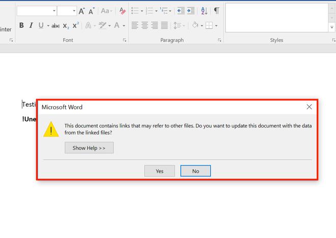 Phát hiện cách cài mã độc thông qua file Microsoft Word mà các chương trình Antivirus không thể phát hiện ra - Ảnh 2.