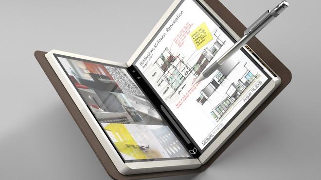 Cùng nhìn lại dự án chết yểu 7 năm trước: máy tính bảng gập như cuốn sổ của Microsoft - Ảnh 2.