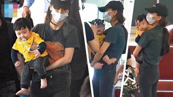 [Nóng] Diện mạo con trai Huỳnh Hiểu Minh - Angelababy lần đầu tiên được hé lộ - Ảnh 2.