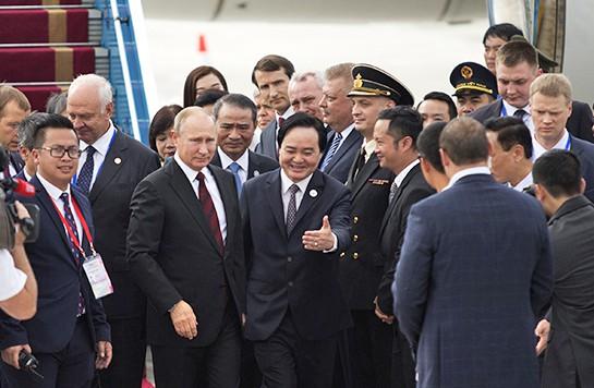 Cận cảnh nơi lưu trú của Tổng thống Nga Putin khi dự Tuần lễ Cấp cao APEC tại Đà Nẵng - Ảnh 2.