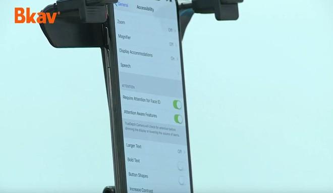BKAV vừa chứng minh Apple sai lần nữa bằng cách dùng mặt nạ qua mặt Face ID ở thiết lập bảo mật nhất - Ảnh 1.