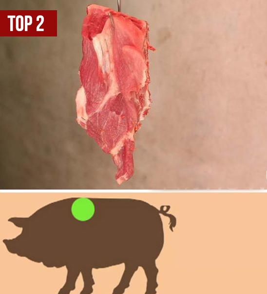 5 miếng thịt ngon nhất trên con lợn: Bạn đã biết để chọn mua? - Ảnh 3.