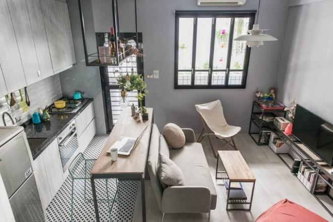 photo 1 1510976211881 Thiết kế căn hộ đẹp nhỏ chỉ vỏn vẹn 30m² nhưng khiến cho bất kỳ ai cũng xiêu lòng