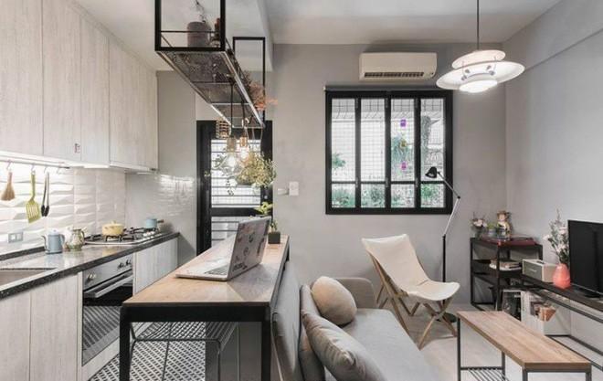 photo 1 1510976213327 Thiết kế căn hộ đẹp nhỏ chỉ vỏn vẹn 30m² nhưng khiến cho bất kỳ ai cũng xiêu lòng