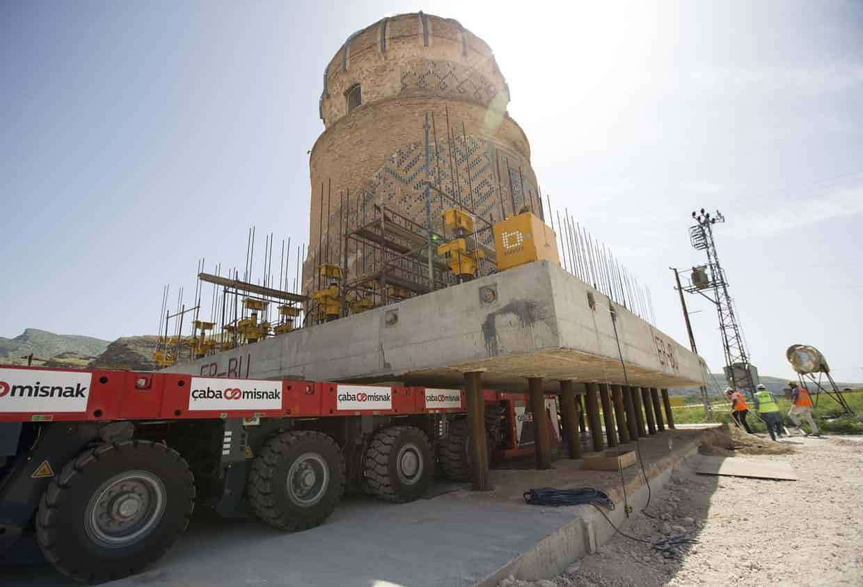 Đừng tưởng bạn đã biết: Cách người Thổ Nhĩ Kỳ di chuyển lăng mộ nặng 1100 tấn - Ảnh 2.