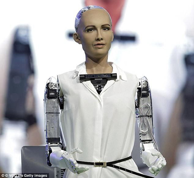 Sophia - Nàng công dân robot đầu tiên trên thế giới thổ lộ mong ước thầm kín - Ảnh 2.