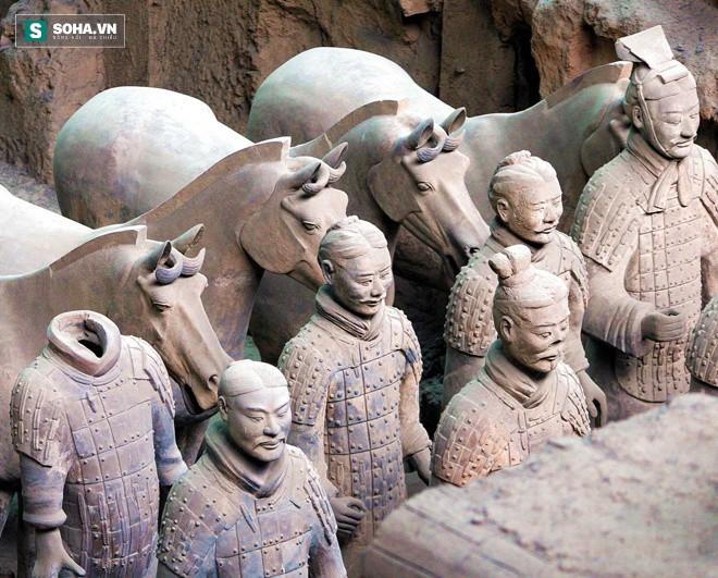 Bí ẩn về vũ khí của đội quân đất nung trong lăng mộ Tần Thủy Hoàng đã được giải mã! - Ảnh 5.