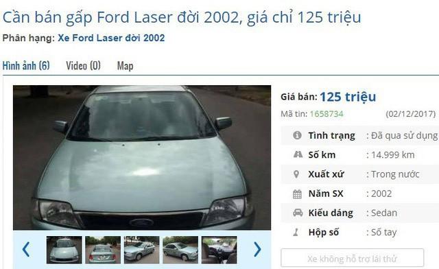 Dưới 140 triệu đồng, mua được ô tô cũ chính hãng nào? - Ảnh 2.