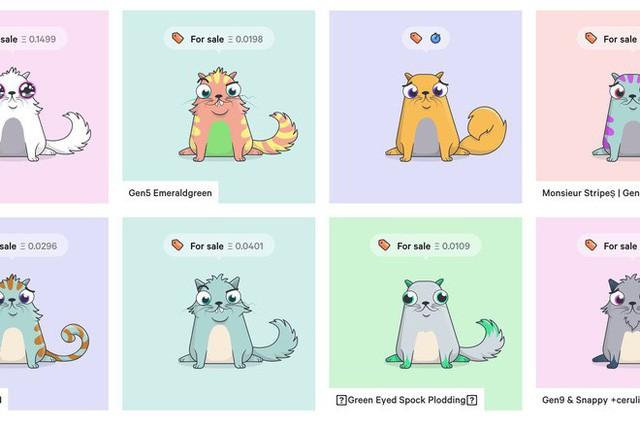 Nuôi mèo ảo đang trở thành cơn sốt của cộng đồng Crypto thế giới, một con có thể bán với giá 2,5 tỷ đồng - Ảnh 2.