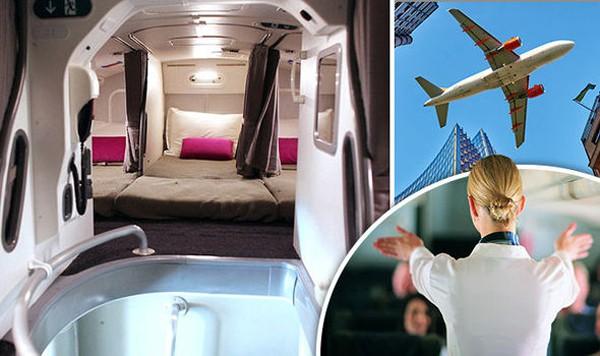 Có buồng ngủ bí mật trên máy bay Boeing 777 - Ảnh 1.