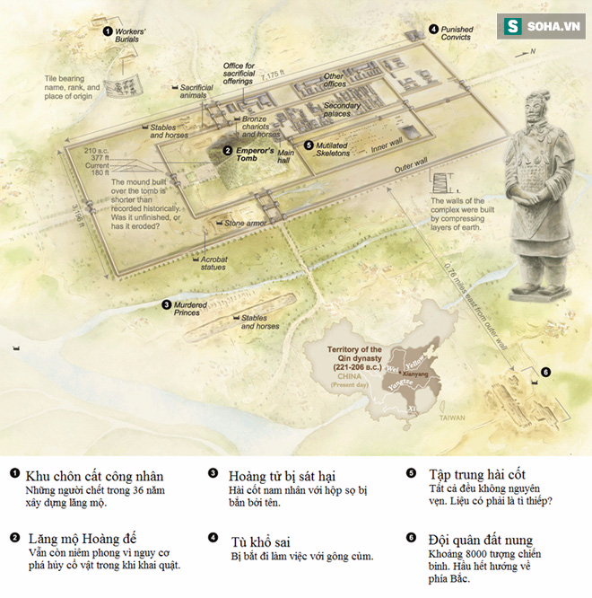"""Bí mật mũi tên trong lăng mộ Tần Thủy Hoàng: Công nghệ """"bậc thầy"""" thời cổ đại - Ảnh 4."""