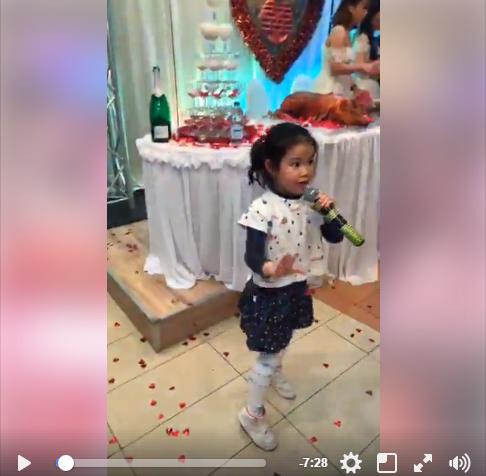 Bé gái người Việt 'quẩy cực sung, hát cực đỉnh' tại một đám cưới ở Ba Lan - Ảnh 1.