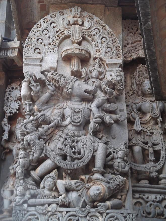Đền Hoysaleswara: Bằng chứng về máy móc cơ khí thời cổ đại - Ảnh 1.