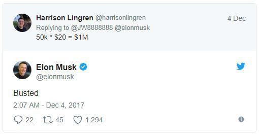 Elon Musk tích cực quảng cáo chiếc mũ siêu nhàm chán, chỉ bán 50.000 chiếc để thu về 1 triệu USD - Ảnh 2.