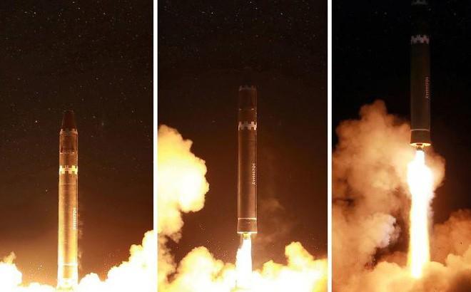 Dùng F-35 bắn hạ tên lửa liên lục địa Triều Tiên: Nước cờ cao tay hay ý tưởng điên rồ? - Ảnh 1.