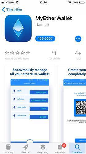 Ứng dụng ví điện tử giả mạo của một lập trình viên người Việt qua mặt Apple để lọt vào App Store - Ảnh 1.