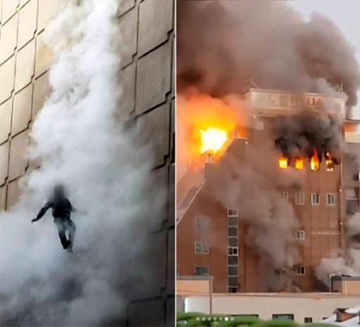 Người đàn ông sống sót kỳ diệu sau khi liều mình nhảy khỏi tầng 4 trong vụ cháy lớn trong lịch sử Hàn Quốc - Ảnh 2.