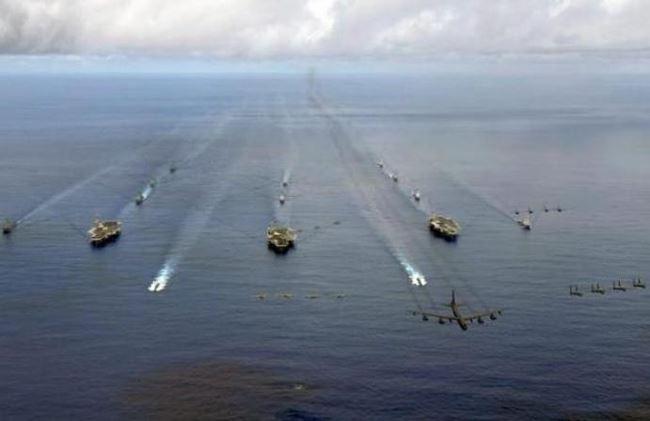 Mỹ tung 6 cụm tác chiến tàu sân bay, Trung Quốc quyết không ngồi chờ chết - Ảnh 2.