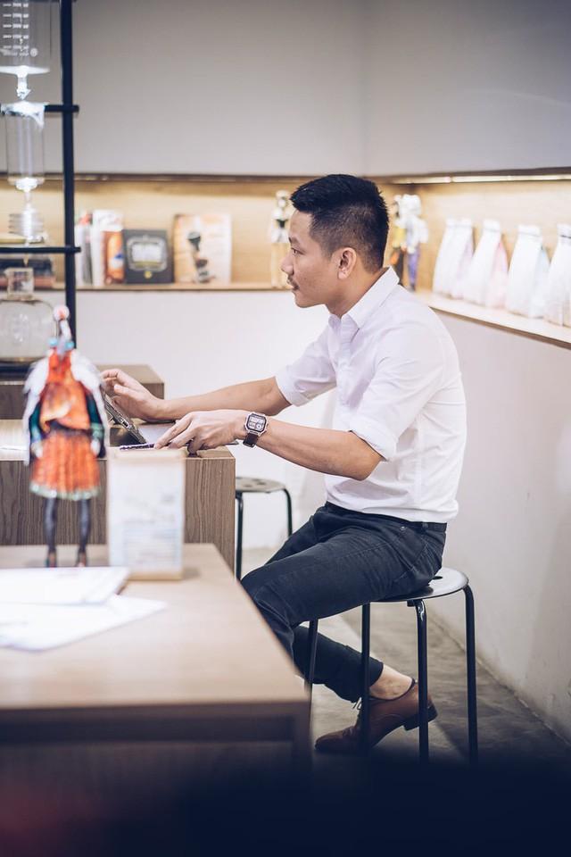 Chê cà phê Việt đắng và nặng, chàng trai này muốn xây dựng một thương hiệu chuẩn thế giới được sản xuất 100% trong nước, bán buôn tới tận Đan Mạch - Ảnh 2.