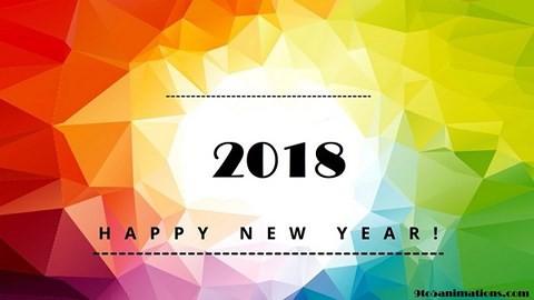 Ảnh đẹp và lời chúc mừng năm mới 2018 hay, ngắn gọn hài hước, ý nghĩa nhất - Ảnh 1.