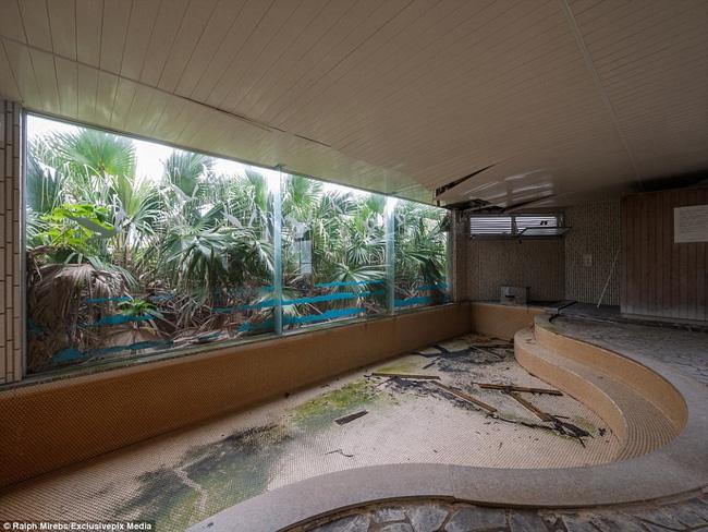 Cảnh hoang tàn ở khách sạn từng lớn nhất Nhật Bản một thời - Ảnh 11.