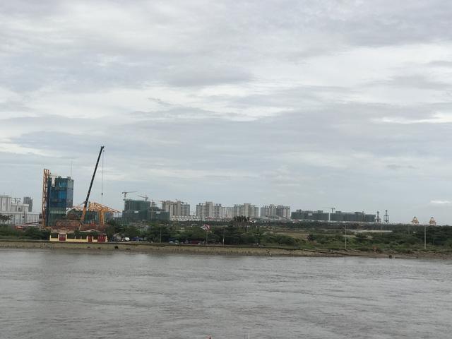 Cận cảnh đại công trường bán đảo Thủ Thiêm sau 4 năm ồ ạt xây dựng - Ảnh 11.