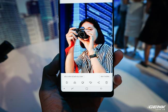 Samsung Galaxy Note8 chính thức ra mắt tại Việt Nam: Thiết kế ấn tượng, camera kép xóa phông chủ động, giá 22,5 triệu - Ảnh 11.