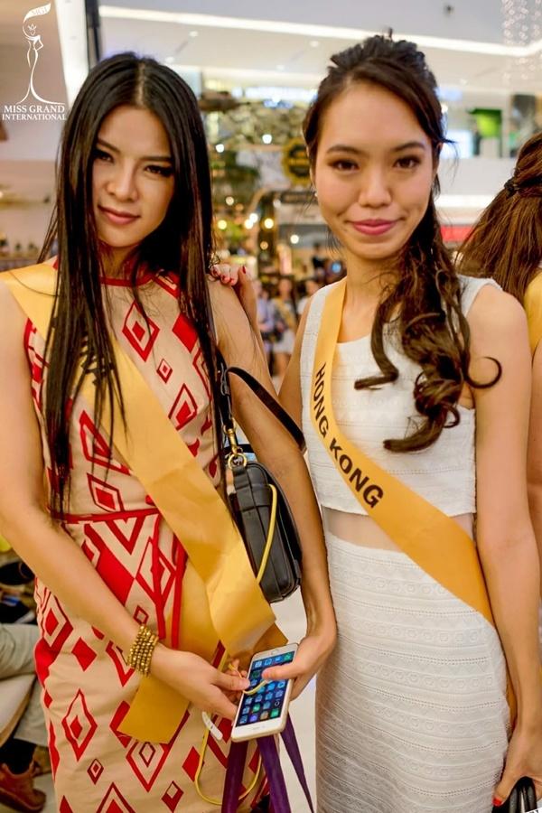 Xuất hiện Lan Khuê phiên bản lỗi tại Miss Grand International 2017 - Ảnh 12.