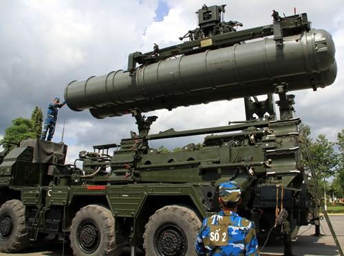Diễn tập các đơn vị tên lửa S-300PMU1 - Ảnh 11.
