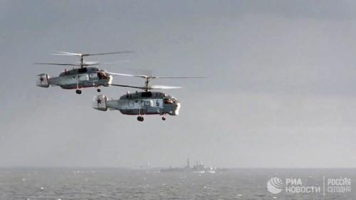 [ẢNH] Khoảnh khắc đẹp của tàu sân bay Nga tham chiến ở Syria - Ảnh 11.