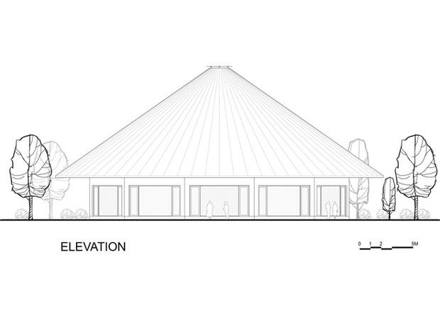 Nhà hàng hình nón làm từ 150.000 cây tre ở Kim Bôi khiến tạp chí kiến trúc Mỹ hết lời khen ngợi - Ảnh 12.