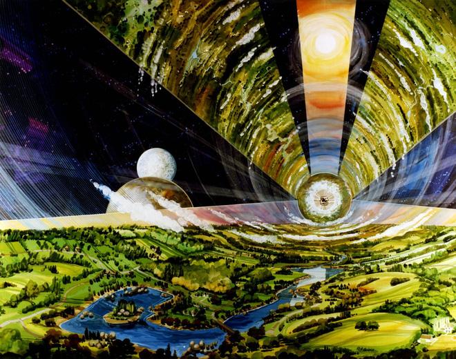 NASA đã từng có ý tưởng xây dựng thành phố ngoài vũ trụ như trong bộ phim Interstellar - Ảnh 13.