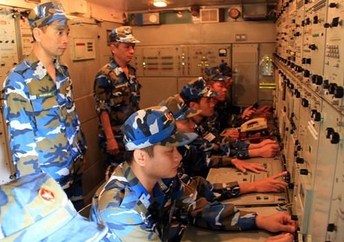 Diễn tập các đơn vị tên lửa S-300PMU1 - Ảnh 14.