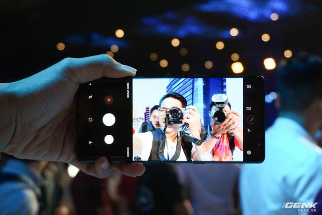 Samsung Galaxy Note8 chính thức ra mắt tại Việt Nam: Thiết kế ấn tượng, camera kép xóa phông chủ động, giá 22,5 triệu - Ảnh 15.