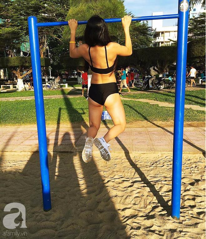 Vượt qua tuổi thơ bị ghẻ lạnh, lớn lên trong xóm ổ chuột, cô gái Nha Trang lột xác thành hot girl phòng gym - Ảnh 15.