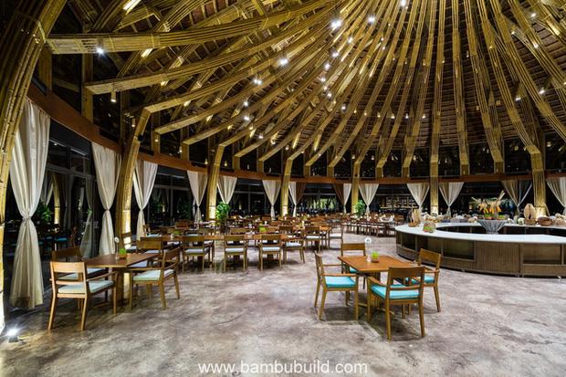 Nhà hàng hình nón làm từ 150.000 cây tre ở Kim Bôi khiến tạp chí kiến trúc Mỹ hết lời khen ngợi - Ảnh 16.