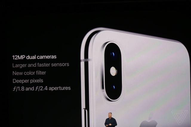 Đây là iPhone X: Giá từ 1000 USD, thiết kế toàn màn hình, loại bỏ nút Home và Touch ID, nhận diện khuôn mặt Face ID, màn hình Super Retina Display  - Ảnh 16.