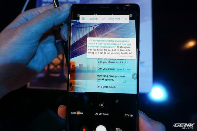 Samsung Galaxy Note8 chính thức ra mắt tại Việt Nam: Thiết kế ấn tượng, camera kép xóa phông chủ động, giá 22,5 triệu - Ảnh 16.
