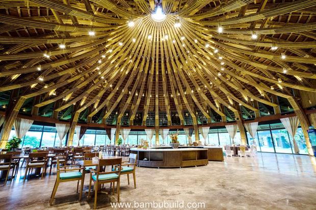 Nhà hàng hình nón làm từ 150.000 cây tre ở Kim Bôi khiến tạp chí kiến trúc Mỹ hết lời khen ngợi - Ảnh 18.