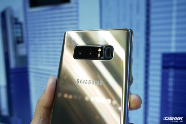 Samsung Galaxy Note8 chính thức ra mắt tại Việt Nam: Thiết kế ấn tượng, camera kép xóa phông chủ động, giá 22,5 triệu - Ảnh 20.