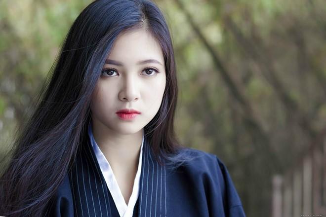 Cô gái 20 tuổi hóa thân thành nữ võ sĩ đạo xinh đẹp - Ảnh 3.