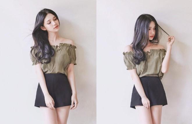 Hot girl Gia Lai xinh đẹp, thích yêu người như Trấn Thành - Ảnh 3.
