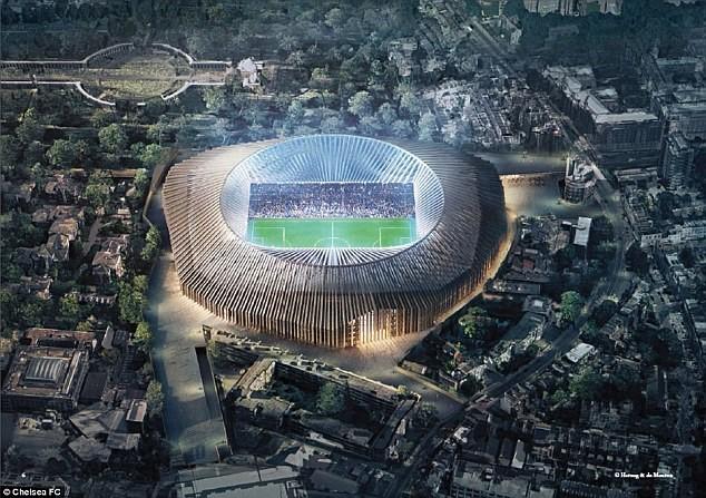 Chelsea chi 500 triệu bảng cải tạo Stamford Bridge - Ảnh 3.