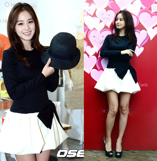 Bí quyết thời trang để Kim Tae Hee trẻ như 18 khi đã gần 40 - Ảnh 1.