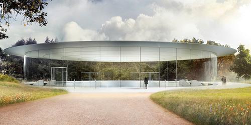 Choáng ngợp với trụ sở mới của Apple - Ảnh 3.