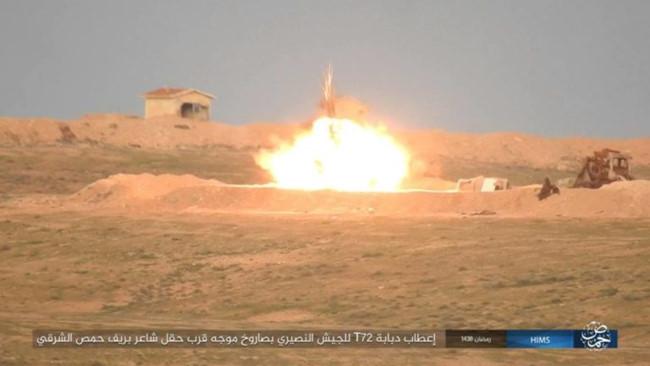 IS bắn tên lửa TOW đánh chặn quân đội Syria - ảnh 2