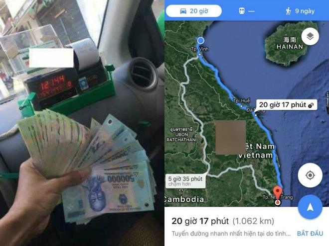 Chi 12 triệu đi taxi qua hơn 1.000 km để gặp người yêu, chàng trai bị dân mạng chửi sấp mặt vì quá phung phí 3