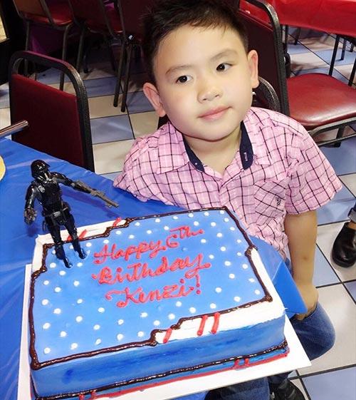 Giữa tin đồn chia tay, Dương Mỹ Linh vắng mặt trong sinh nhật con trai út Bằng Kiều  - Ảnh 1.