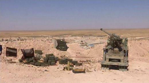 Pháo tự hành tung hoành trên chiến trường Syria - Ảnh 2.